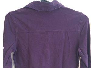Tchibo Shirt mit Kragen, Größe 36, Baumwolle/Elasthan, Nichtraucherhaushalt