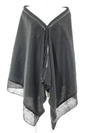 Tchibo / TCM Cape dunkelgrau-schwarz Elegant