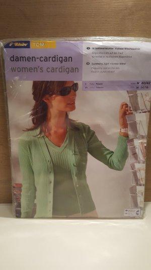 Tchibo TCM Damen Cardigan, Farbe: Pistazie, Gr. 40/42