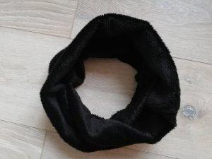Tchibo/TCM kuscheliger Plüsch-Loop in schwarz - neu ohne Etikett -