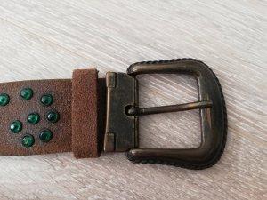 Tchibo / TCM Leather Belt multicolored leather