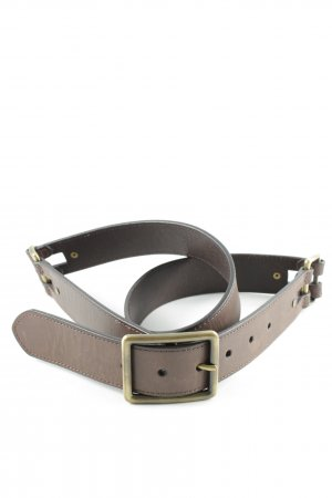 Tchibo / TCM Leather Belt brown biker look