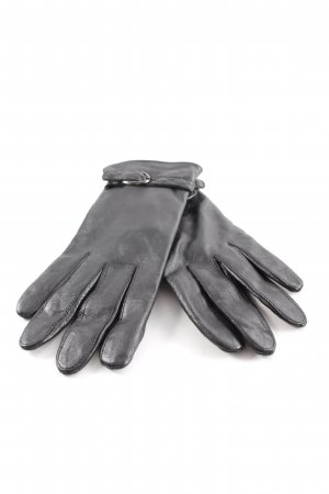 Tchibo / TCM Lederhandschuhe schwarz Elegant