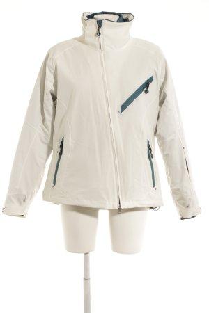 Tchibo / TCM Winterjacke weiß sportlicher Stil