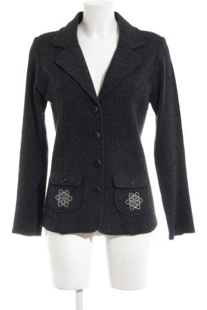 Tchibo / TCM Giacca di lana nero stile professionale