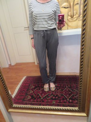 Tchibo / TCM pantalonera gris oscuro-gris Poliéster