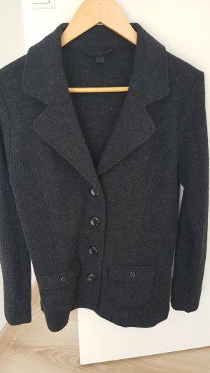 Tchibo / TCM Blazer in lana grigio