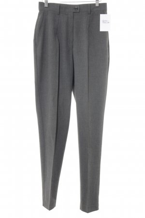 TCM Bundfaltenhose grau Business-Look