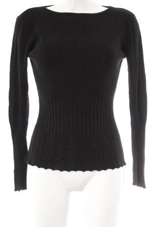 TCM Cropped Shirt schwarz klassischer Stil