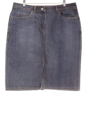 TCM Jeansrock dunkelblau Jeans-Optik