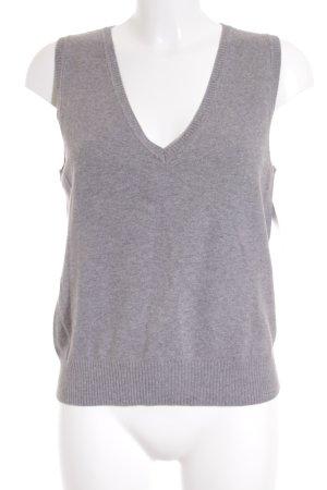 TCM Short Sleeve Sweater grey simple style