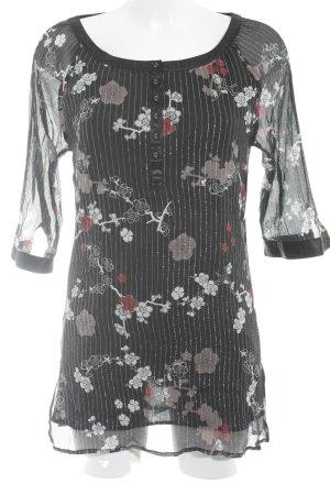 TCM Long-Bluse florales Muster Elegant