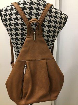 TCM Mulifunktionstasche Umhängetasche oder doch Rucksack braun