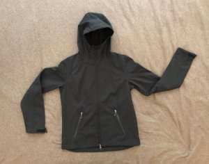 TCM Outdoor Jacke, Funktionsjacke, Windjacke, Größe 38, schwarz, neuwertig