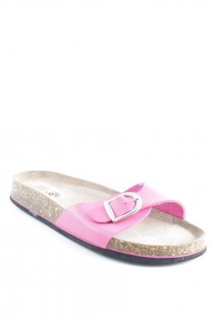 TCM Scuffs neon pink-light brown casual look