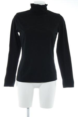 TCM Turtleneck Shirt black casual look