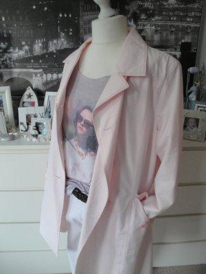 TCM Tchibo * Traum Frühlings Mantel Trench * rosa Pailletten * 44 NEU