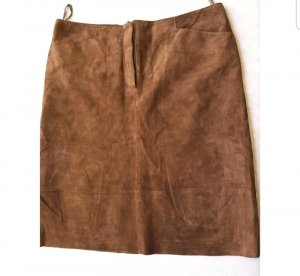 TCM Leather Skirt brown leather