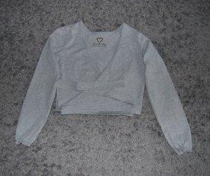 TCM von Tchibo Esential Sport Collection, Damen Langarm Bolero Grau, Größe:36/38