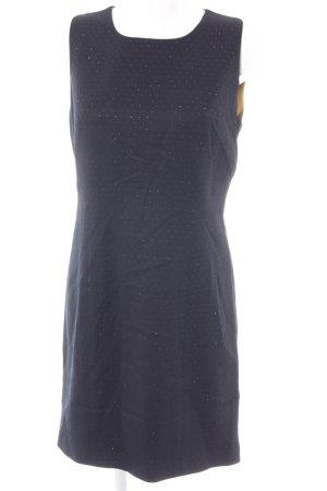 Ted baker A-Linien Kleid dunkelblau-goldfarben Elegant