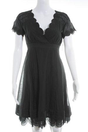 Ted baker A-Linien Kleid schwarz Romantik-Look