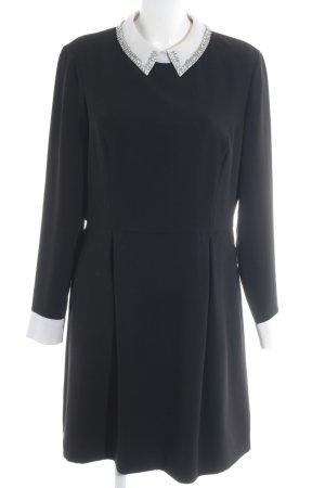 Ted baker A-Linien Kleid schwarz-weiß Elegant