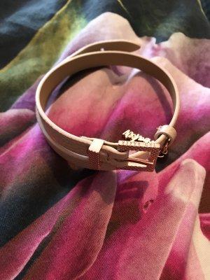 Ted Baker Armband Rosegold rosa Leder neu