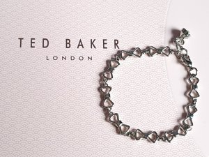 Ted Baker Armband Silber Schleifen Peek A Bow