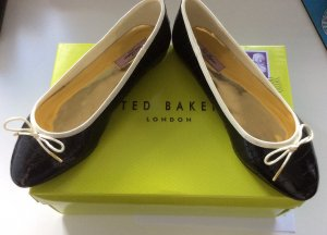 TED BAKER ballerinas, Lackleder, Gr.38