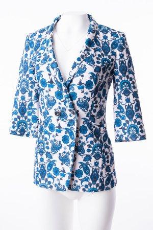 TED BAKER - Blazer mit Paisley-Muster Blau-Beige