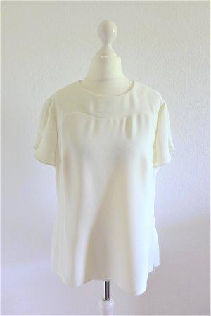 Ted Baker Bluse Shirt Oberteil Top weiß creme Gr. 3 M 38/40