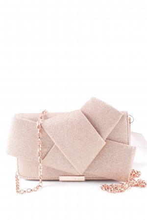 Ted baker Bolso de mano color rosa dorado elegante