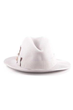 Ted baker Cappello in feltro grigio chiaro stile da moda di strada