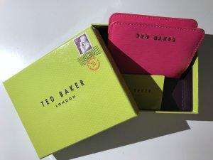 Ted baker Portefeuille rose cuir