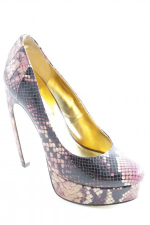 Ted baker High Heels rosé-schwarz extravaganter Stil