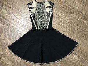 TED Baker Kleid Gr XS schwarz