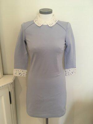Ted Baker Kleid hellblau blau weiß 34 XS