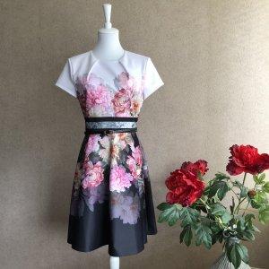 Ted Baker Kleid mit Blumenmuster Neu