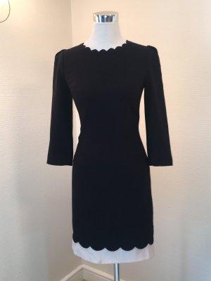 Ted Baker Kleid schwarz-weiß