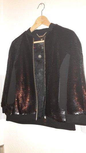 Ted Baker london pailletten Jacke in schwarz