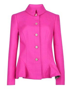 Ted Baker Mantel Jacke Wolle Kaschmir 34 XS 0 6 pink