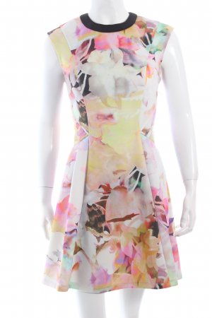 Ted baker Minikleid abstraktes Muster Neopren-Optik