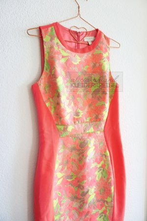 Ted Baker Neon Pencil Dress