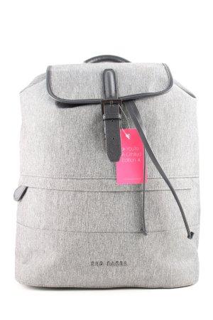 Ted baker Zaino laptop grigio chiaro-nero puntinato stile professionale