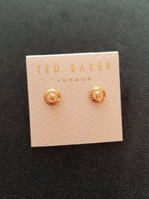 Ted baker Orecchino a vite color oro rosa