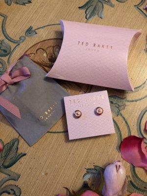 Ted baker Zarcillo color rosa dorado
