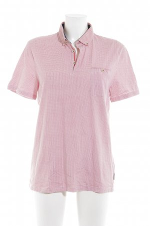 Ted baker Polo-Shirt weiß-lachs Casual-Look