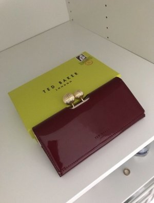 Ted baker Wallet bordeaux-cream