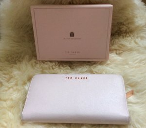 Ted baker Portefeuille rose clair
