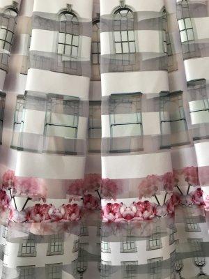Ted baker Falda a cuadros blanco-rosa claro